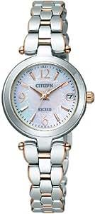 [シチズン]CITIZEN 腕時計 EXCEED エクシード Eco-Drive エコ・ドライブ 電波時計 パーフェックス搭載 ES8024-51W レディース