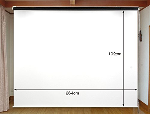 2.2倍明るいマイクロビーズスクリーン 130インチ(4:3) チェーン巻上げ型 日本製 CH-MB130