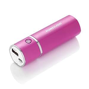(パワーアド)Poweradd Slim2 5000mAhモバイルバッテリー 2.1Aスマート急速充電 小型 iPhone6 6s / iPhone5 5s 5c / iPad / Androidスマホ対応(ローズレッド)
