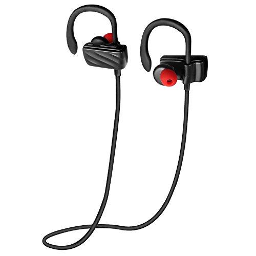 Roman Bluetooth イヤホン技適認証済 イヤ-フック付け外れにくい ハンズフリー通話 ワイヤレス イヤホン