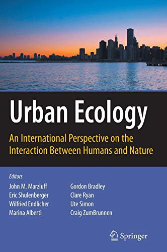 Download Urban Ecology: An International Perspective on the Interaction Between Humans and Nature 0387734112