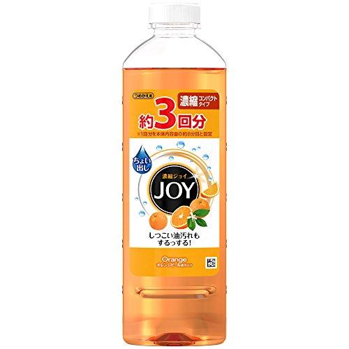 RoomClip商品情報 - ジョイ コンパクト 食器用洗剤 オレンジピール成分入り 詰め替え 440mL