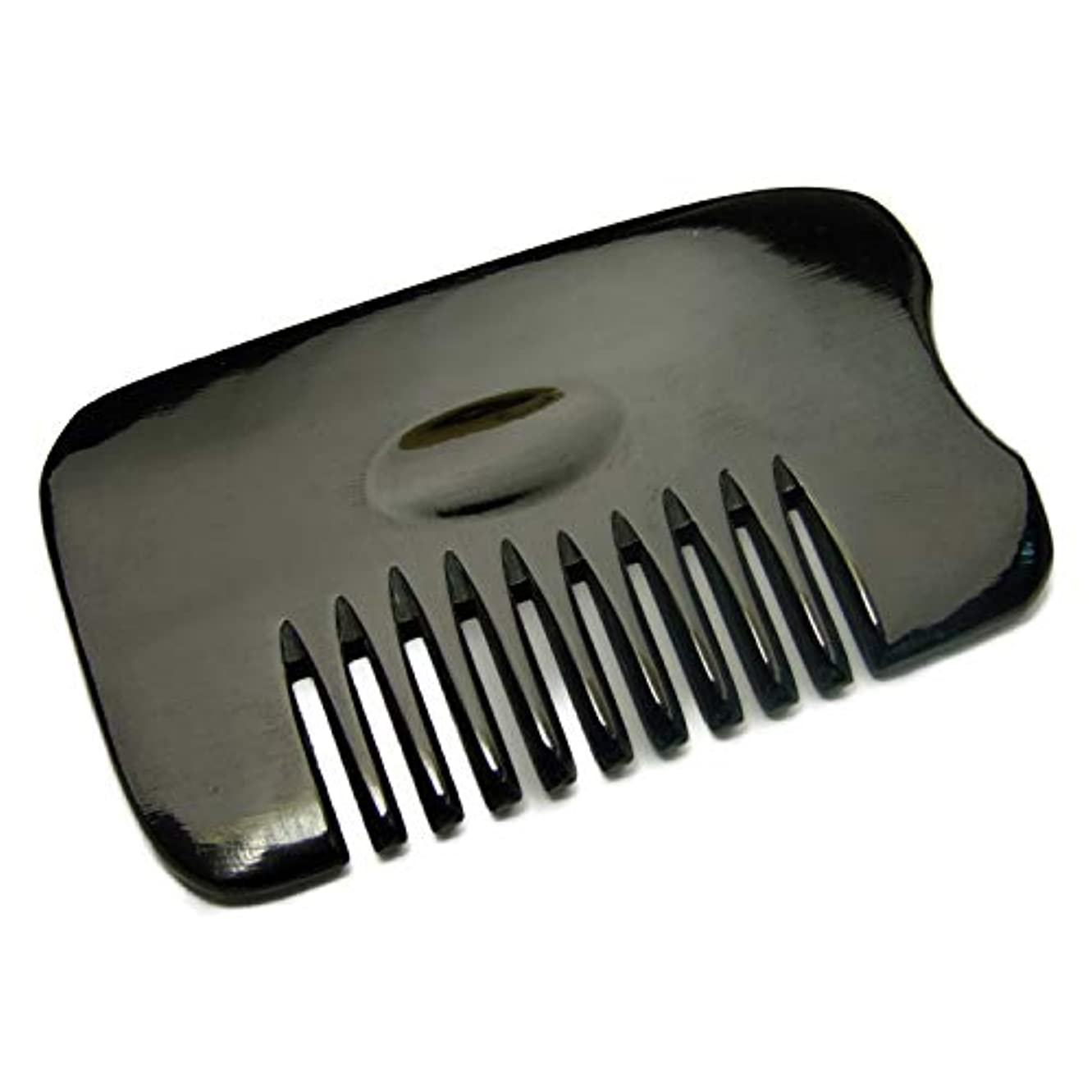 保証する許容つぼみk3-5E かっさ 牛角かっさプレート 櫛型 (品良かっさ)