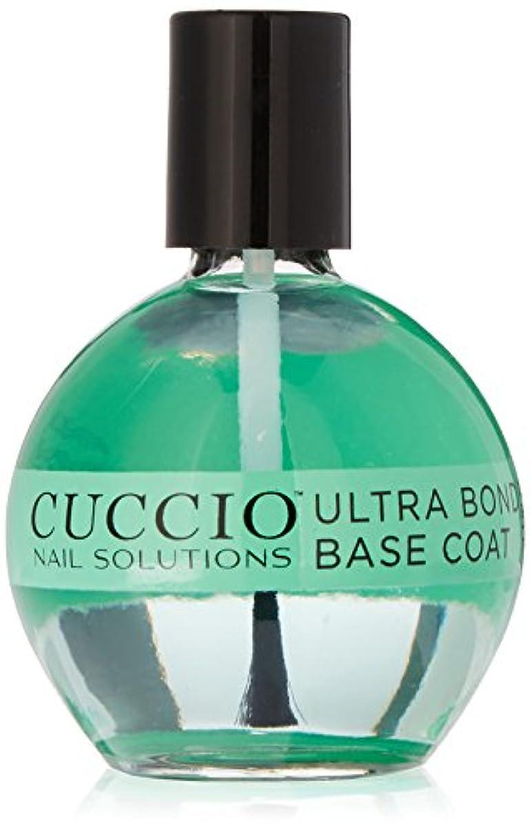 増加するピア潮Cuccio Nail Treatments - Ultra Bond Base Coat - 75 mL / 2.5 oz