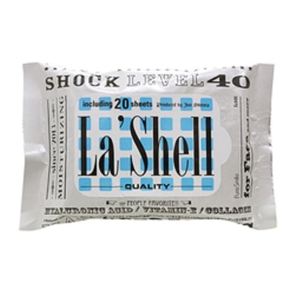 ローブ吸収剤省略するラシェル フェイシャルシート レベル40 20枚入り 6個セット