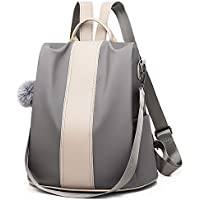 Women Backpack Purse Nylon Anti-theft Rucksack Travel School Shoulder Bag