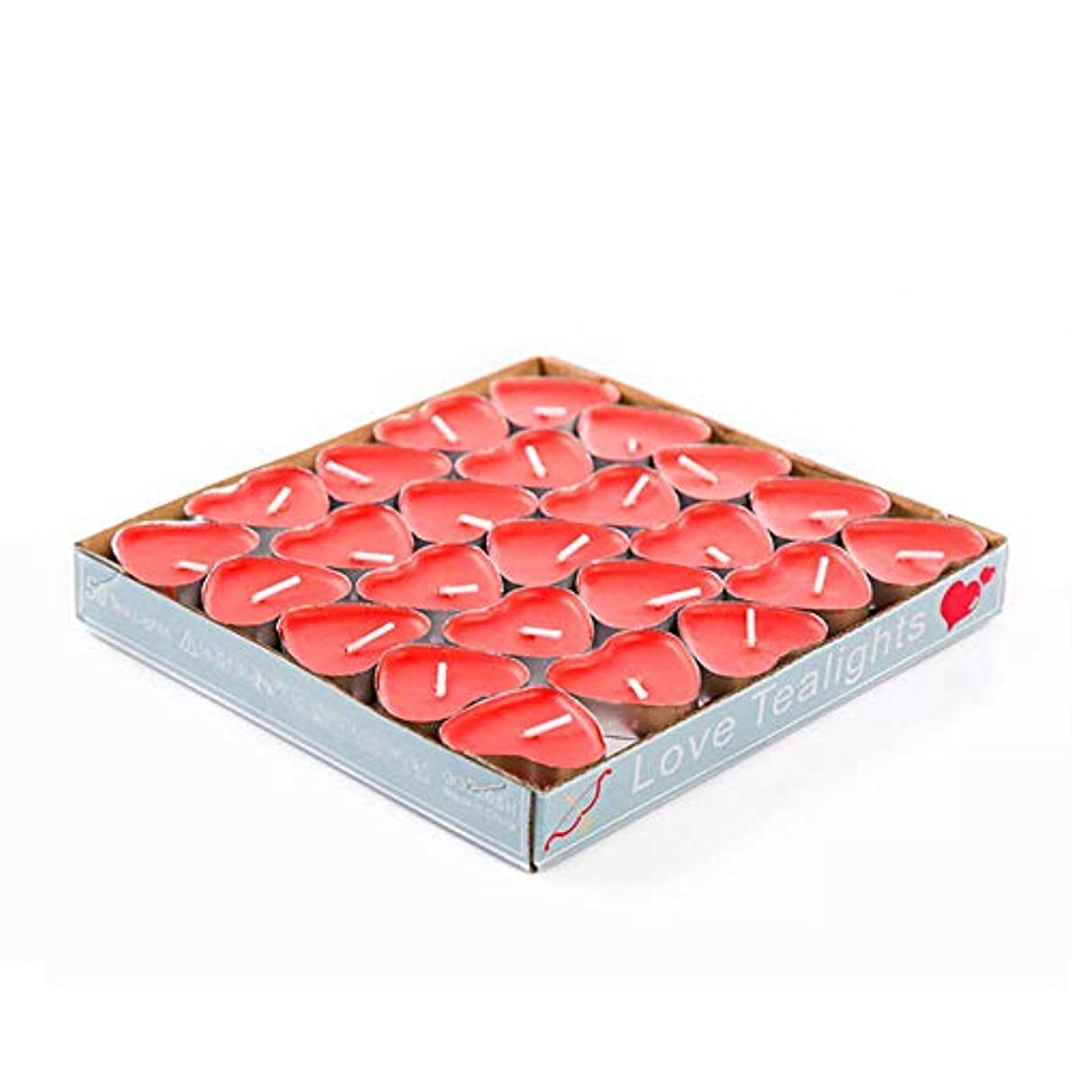 欲しいです商人椅子Hwagui アロマキャンドル ティーキャンドル ギフト ワックス アロマセラピー ギー ろうそく バターキャンドル 50個 2時間 ZH008