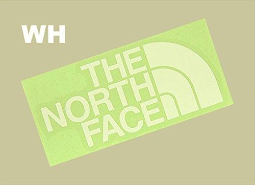 ザ・ノース・フェイス(THE NORTH FACE) TNFカッティングステッカー NN88106 W ホワイト