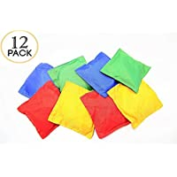 Nylon Bean Bags Toy Assorted 12 Pc 13cm x 13cm By Oojami