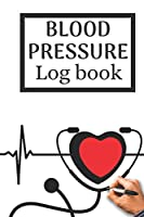 Blood pressure log book: Blood pressure tracker   Logbook 6 x 9 inches x 120 pages   Blood pressure journal book   medical diary blood pressure for 4080 recordings