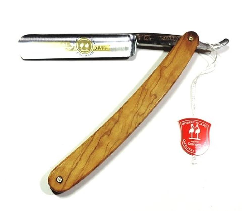 武器持続的広告ゾーリンゲン(独)ロバートクラス レザーかみそり 炭素鋼 オリーブ木柄