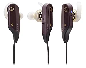 audio-technica SoundPhone カナル型イヤホン ワイヤレス ブラウン ATH-BT12 BW