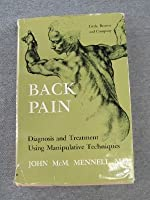 Back Pain: Diagnosis and Treatment Using Manipulative Techniques