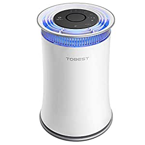 TDBEST 空気清浄機 空気清浄器 脱臭機 脱臭 静音 HEPAフィルター搭載 タイマー アロマディフューザー付き 空気検知センサー 省エネ 花粉 ホコリ99.99%除去 たばこ用 適用面積~20畳