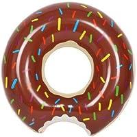 ドーナツ型 浮き輪 90cm アメリカンな チョコレート ドーナツフロート うきわ 浮輪 ブラウン