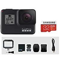 GoPro HERO7 BLACK本体+メーカー推奨Samsung 32GB microSDカード付き