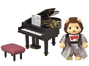 シルバニアファミリー タウンシリーズ 街の音楽会セット―グランドピアノ―