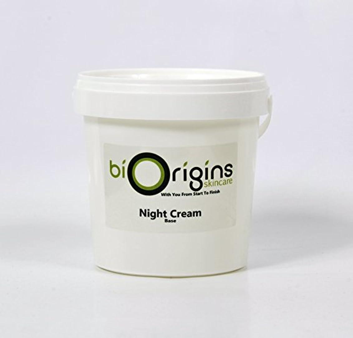 職人ロックプレゼンテーションNight Cream - Botanical Skincare Base - 1Kg