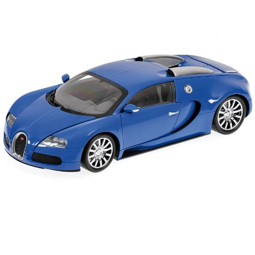 1/18scale ミニチャンプス MINICHAMPS Bugatti Veyron 2009 Light Blue/Dark Blue ブガッティ ベイロン