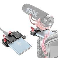 Cooer の SSDクランプBMPCCケース用SSDハードドライブマウントブラケットホルダー Samsung T5 SSD対応