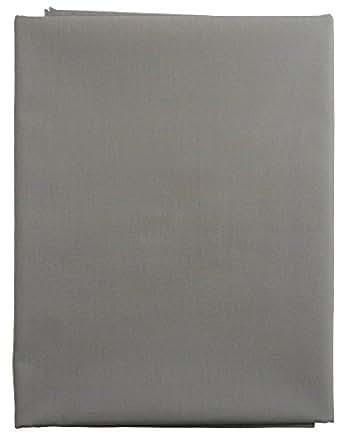 NASKA 生地 カラーブロード 約110cm幅×2mカット col.83 グレー CF8500 手芸・ハンドメイド用品