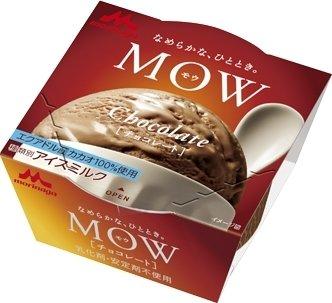森永乳業 MOW チョコレート エクアドルカカオ140ml×18個