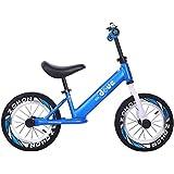 ペダルなし自転車 超軽量のバランスのバイクのアルミ合金、男の子および女の子のためのペダルの軽量の子供の自転車の学習自転車無し (色 : B)
