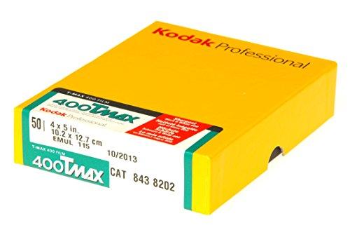 プロフェッショナル T-MAX400 (400TMY) [4x5 50枚パック]