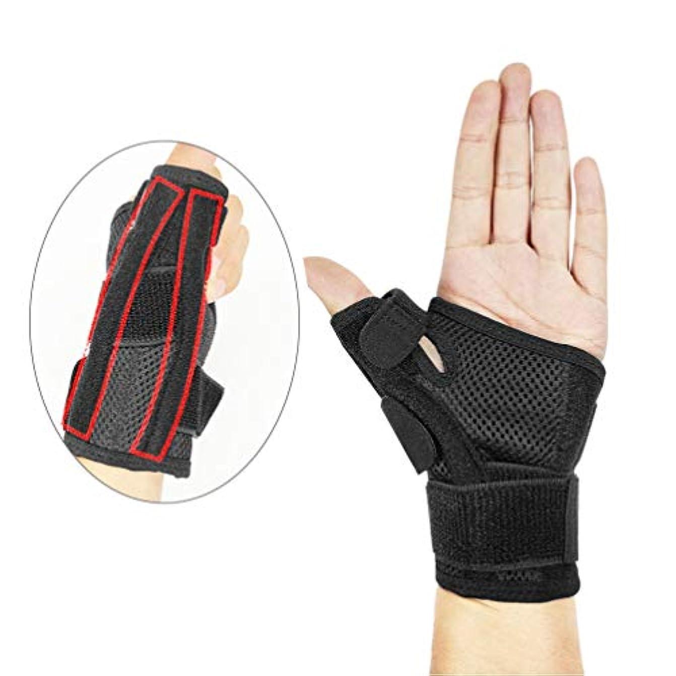パイントミットよく話されるHeallily 手首の圧縮手首のトンネルの苦痛救助、関節炎、腱炎のための1つの手首の圧縮の袖の調節可能な手首の支柱の保護装置