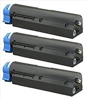OKI用 TNR-M4E1 互換トナーカートリッジ 3本 印刷枚数:約7000枚(ISO/IEC 基準値によるA4普通紙に片面連続印刷密度5%の場合) 対応機種: B411dn / B411dnB / B431dn / B431dnB エコスロバキアオリジナル商品