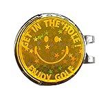 集光グリーンマーカー(オレンジ)キラキラ目立つからライ ンがわかる!コンペの景品に人気のゴルフマーカー