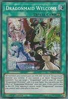 遊戯王 MYFI-EN024 ドラゴンメイドのお出迎え Dragonmaid Welcome (英語版 1st Edition シークレットレア) Mystic Fighters