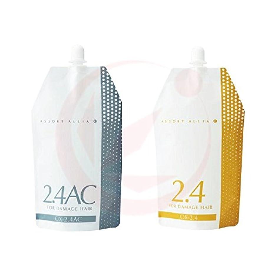 たらい群衆田舎者デミ アソートアリア OX(オキシ) 1000ml (カラー2剤) OX-2.4AC