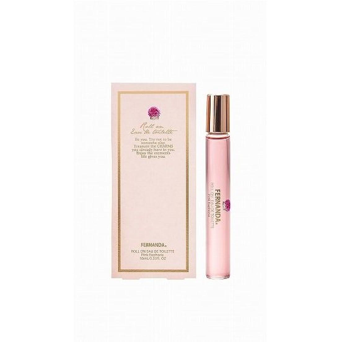 サーバ消化器服FERNANDA(フェルナンダ) Roll on Fragrance(オードトワレ) Pink Euphoria (ピンクエウフォリア)