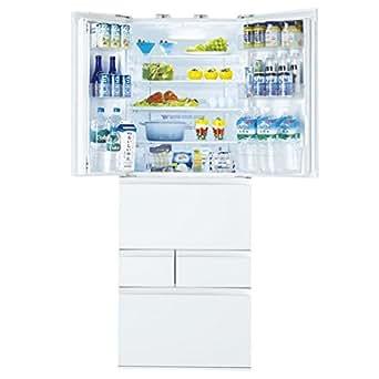 東芝 555L 6ドア冷蔵庫(クリアシェルホワイト)TOSHIBA マジック大容量 GR-H560FV-ZW