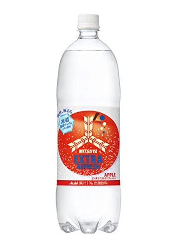 アサヒ飲料 三ツ矢 エクストラリフレッシュ アップル 1500ml×8本
