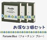 Pavilio MINI / パビリオ ミニ 《3個セット》MINI Fortune Blue / ミニ フォーチュン ブルー レーステープ 10mm× 6m