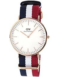 DANIELWELLINGTON(ダニエルウェリントン) 腕時計 Cambridge 40mm ゴールド×レッド 0103DW メンズ [並行輸入品]