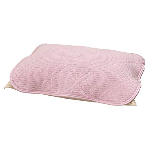 東京西川 枕パッド 63X43cmサイズの枕用 冷感 触るとひんやり ピンク...