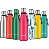 Newdora Insulated Water Bottle 500ml Stainless Steel Water Bottle BPA Free Double-Walled Vacuum Flask for Sports 12 Hours Hot
