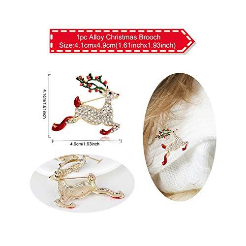 『イヤリングネックレスクリスマスインテリアサンタクロースイヤードロップペンダントクリスマスインテリア用-87-9-』のトップ画像