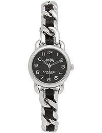 [コーチ] 腕時計 レディース COACH 14502725 ブラック シルバー [並行輸入品]