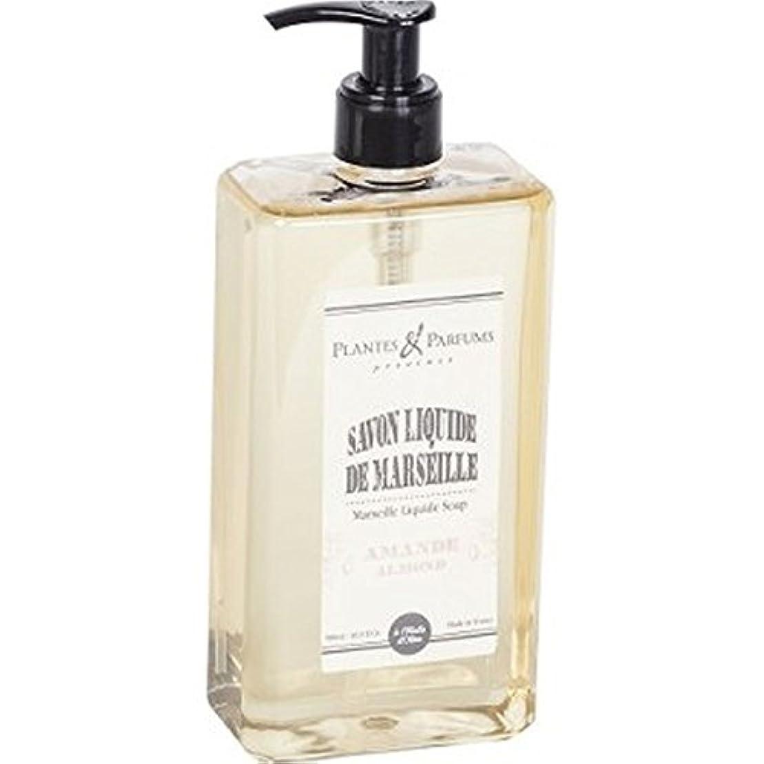 無秩序広々とした脳Plantes&Parfums [プランツ&パルファム] マルセイユリキッドソープ アーモンド