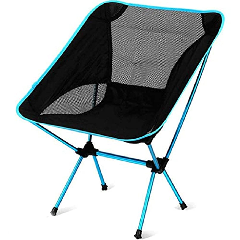 暴露する決めます量でアルミアウトドア折りたたみ椅子ポータブルキャンプの椅子釣りの月の椅子赤い青の選択