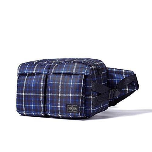 (ヘッド・ポーター) HEADPORTER HIGHLAND WAIST BAG BLUE