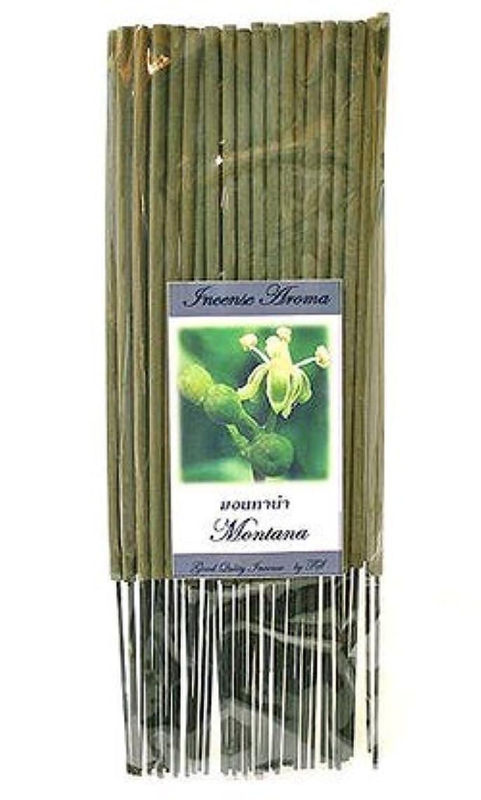 クック梨厚いタイのお香 スティックタイプ [モンタナ] インセンスアロマ 約50本入り アジアン雑貨