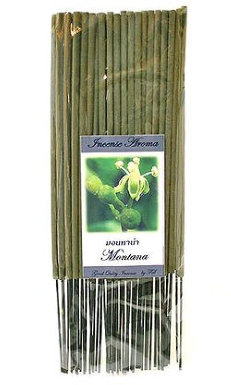 夜コード湿気の多いタイのお香 スティックタイプ [モンタナ] インセンスアロマ 約50本入り アジアン雑貨