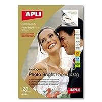 【APLI】インクジェットA4印画紙 色長持ち 20枚 (AP-10970)