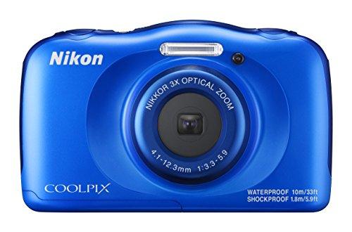 Nikon デジタルカメラ COOLPIX W100 防水 W100BL  クールピクス ブルー -