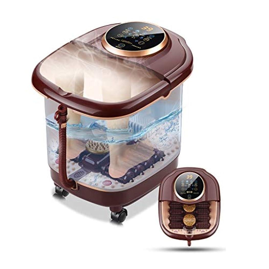 ニンニクパイプライン温浴、マッサージローラー、泡、デジタル調節可能な温度制御付きフットスパマッサージ